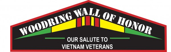 Woodring Wall of Honor Salutes Vietnam Veterans